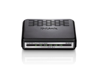 Switch Dlink 5-Port easy desktop 10/100/1000Mbps