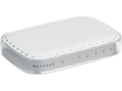 Switch Netgear 5- Port Gigabit ethernet no administrado L2  10/100/1000Mbps