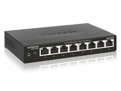 Switch Netgear 8 - Port Gigabit ethernet gestionable smart pro